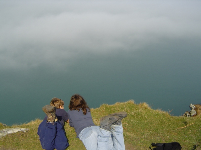 On Dinas Head