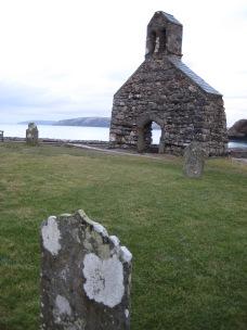 St Brynach's Church at Cwm-yr-Eglwys