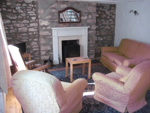 Living room - sofa end