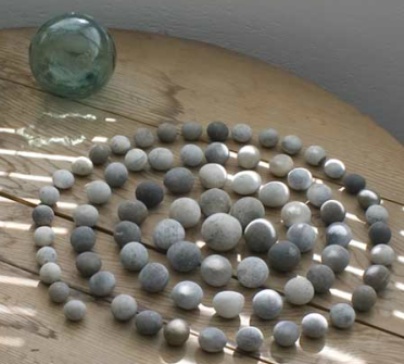 Pebble Spiral by Jim Ede 1958