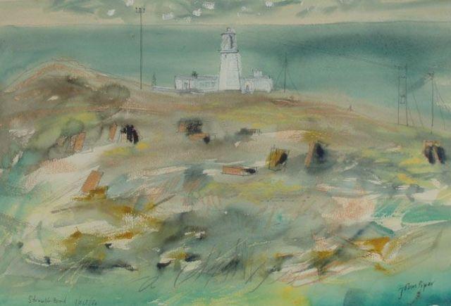 Strumble Head Light House by John Piper