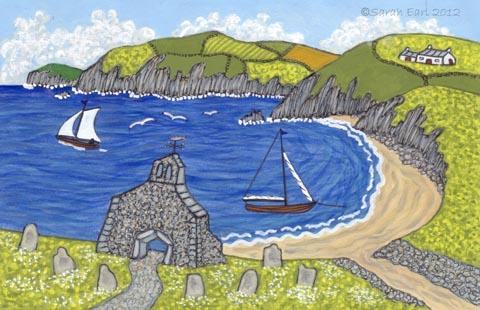 Cwm yr Eglwys by Sarah Earl