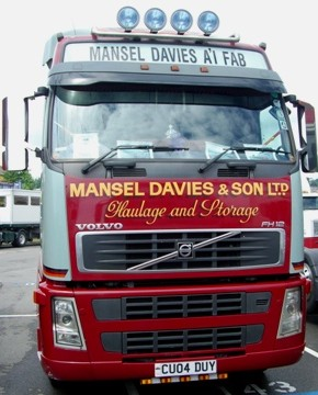 Mansel Davies - Haulage firm based in Pembrokeshire