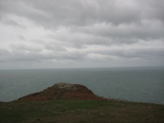 9. The tip of Dinas Head. It feels like an achievement to get there, but, to be honest, it's not a long walk from Tegfan.