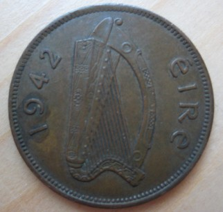 Irish halfpenny