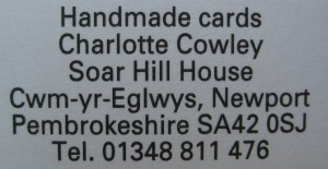 Charlotte Cowley Cards