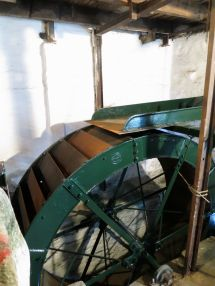 Water wheel at Melin Tregwynt