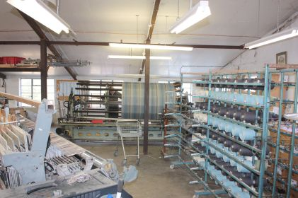 Weaving shed at Melin Tregwynt