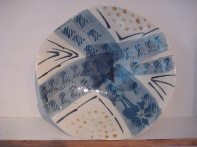 Len Rees - bowl