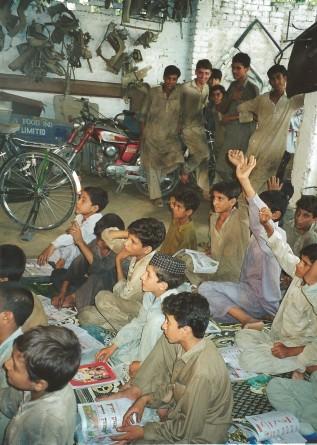 Pakistan - School for working boys