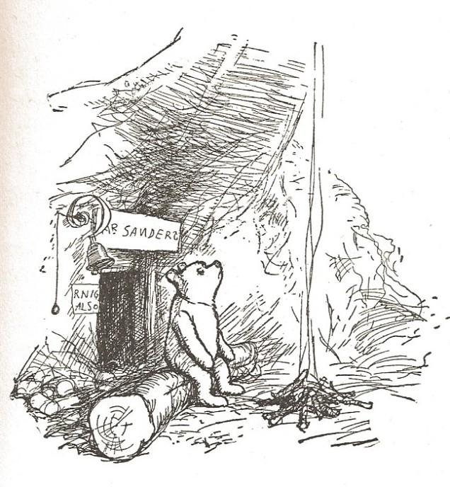 Winnie-the-Pooh's home by E H Shepard