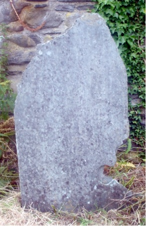 Cwm yr Eglwys - gravestone 11 (no writing)