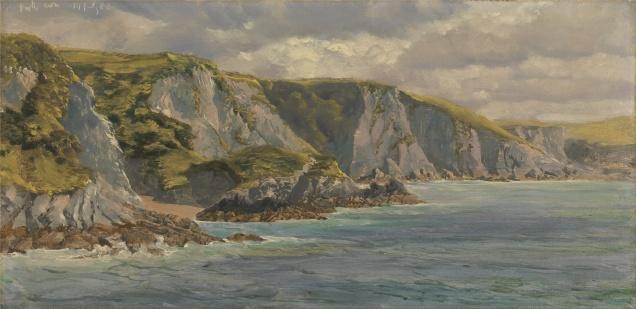 Pwll Cwm by John Brett 1882
