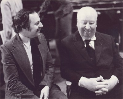 Alfred Hitchcock and John Russell Taylor