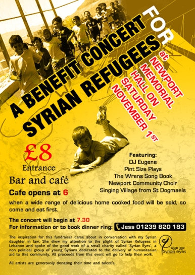 Benefit Concert for Syrian Refugees
