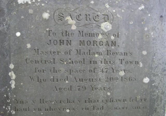 John Morgan's memorial