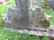 Grave of Mary Albrow, Nevern