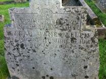 Grave of Sarah Allen, Nevern