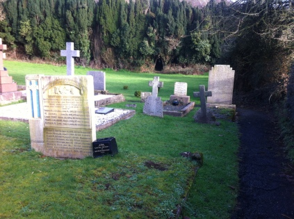 Graves of evacuees, Nevern