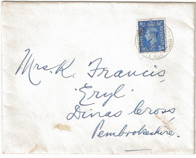 Joe Francis letter 2