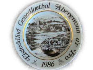 Fishguard eisteddfod plate