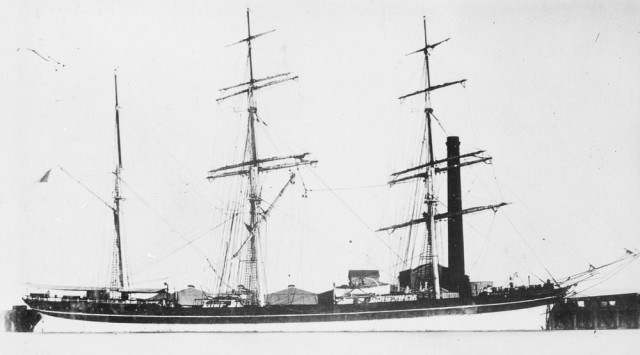 Windrush in port