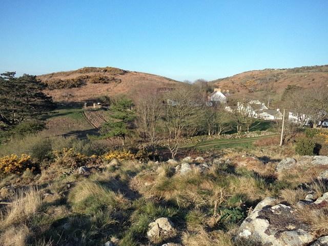 The rocky top of Garnwen