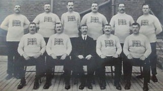 Britsh olympic Tug of War team 1912-1913