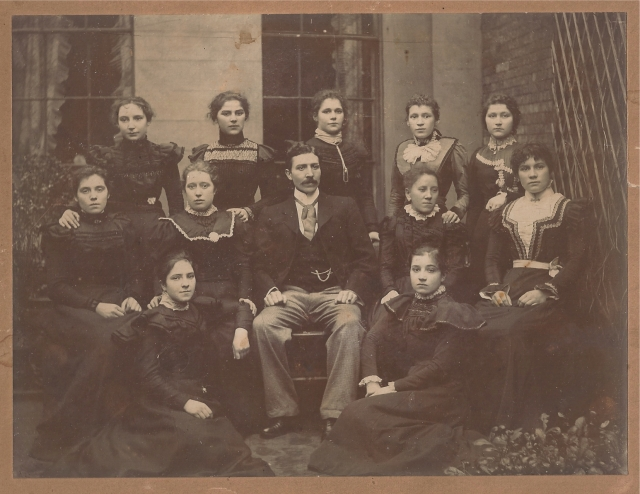 Mary Anne Harries at school or teacher training college Swansea
