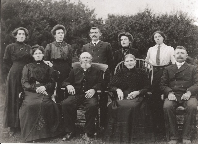 Stephen, Mary and their children