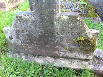 Grave of Mary Albrow nevern-2