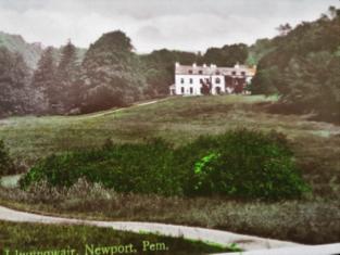 Llwyngwair postcard