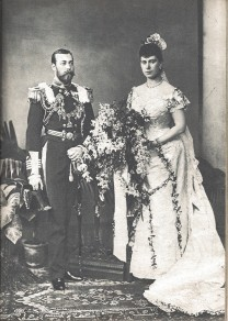 Queen Mary's wedding dress